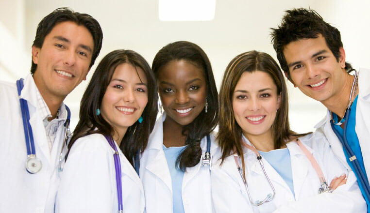 health students training